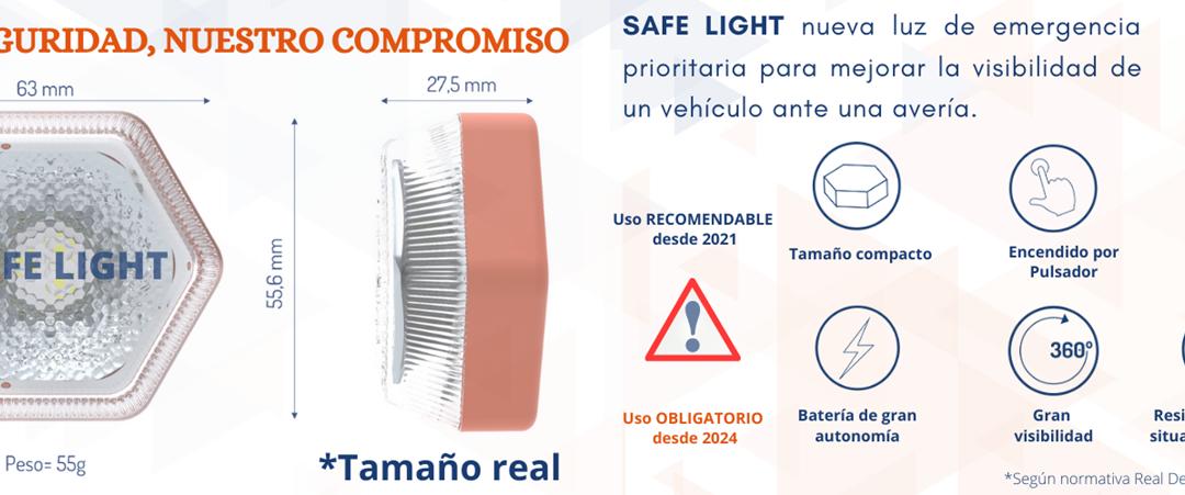 dBlux lanza Safe Light, su dispositivo de señalización de emergencia en carretera